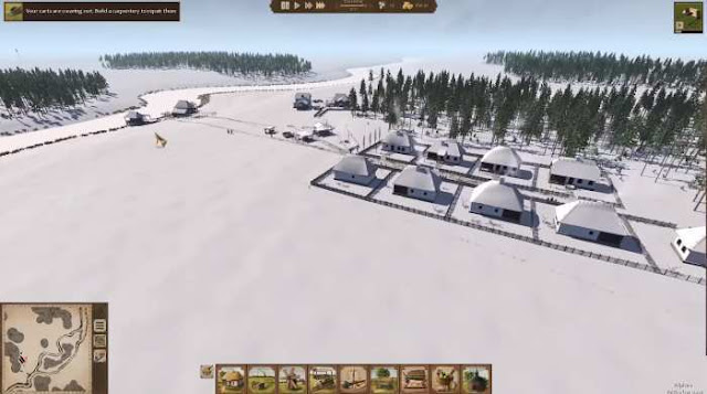 Ostriv is a town-planning simulator, whose actions take place in the 18th century. The difference of the game from the competitors of the genre is unprecedented freedom in the construction.