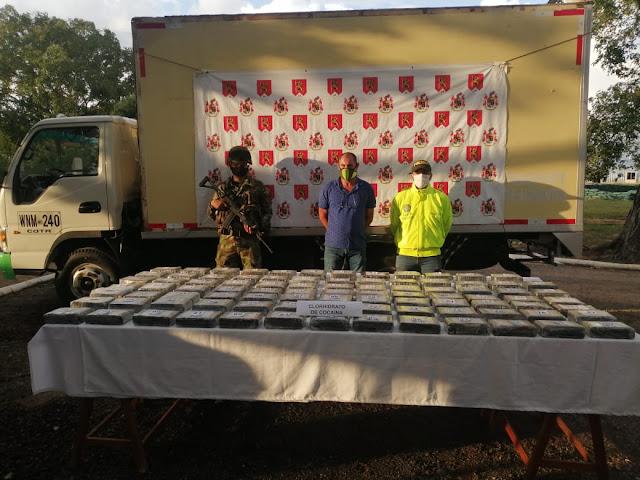 https://www.notasrosas.com/98 kilos de clorhidrato de cocaína, decomisados en vereda de Aguachica