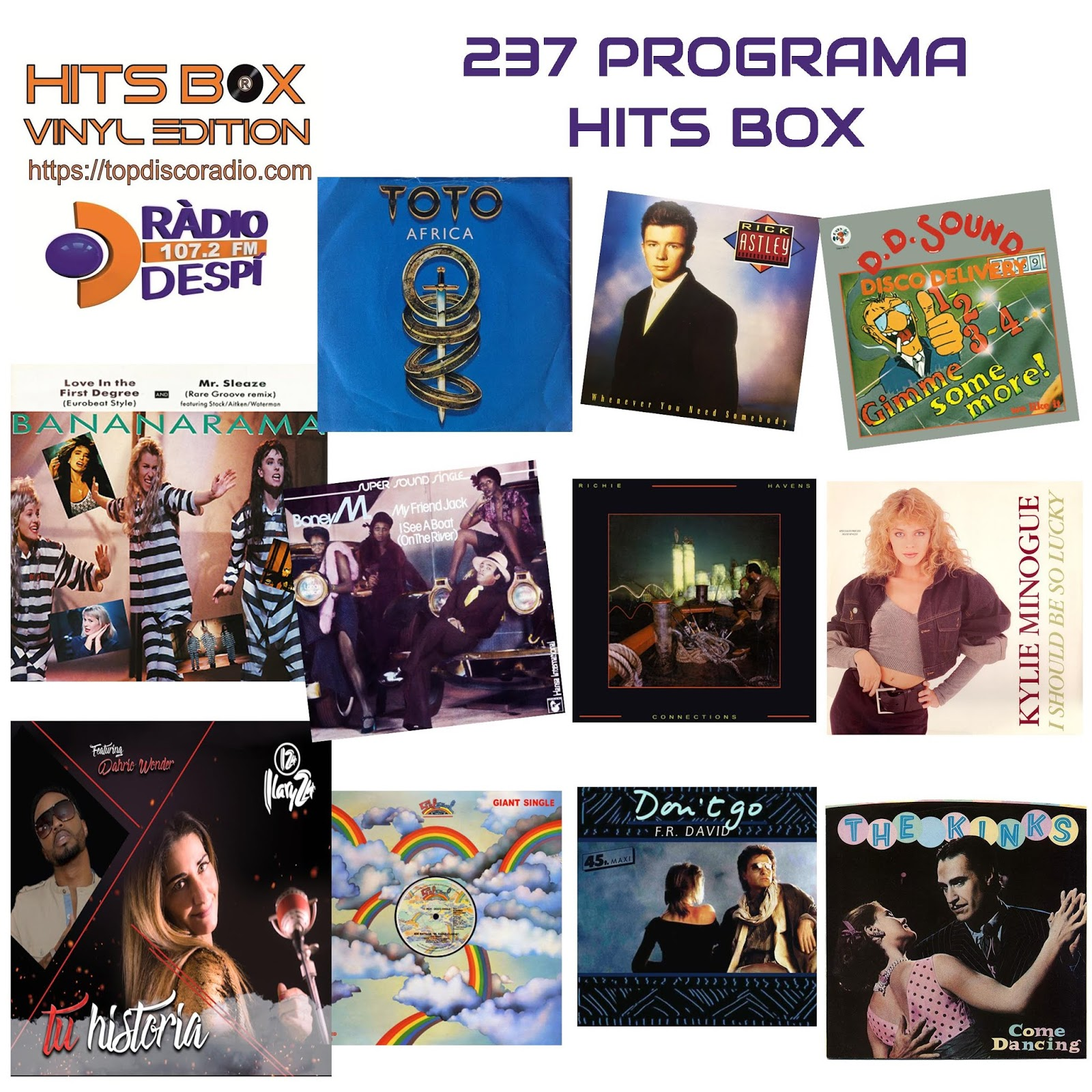 237 Programa Hits Box Vinyl Edition