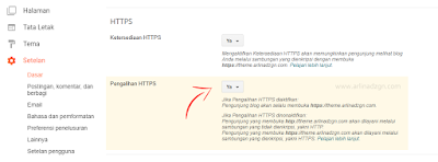 Cara Aktifkan Https (SSL) di Blogger Custom Domain