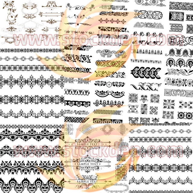 100 mẫu khung viền free