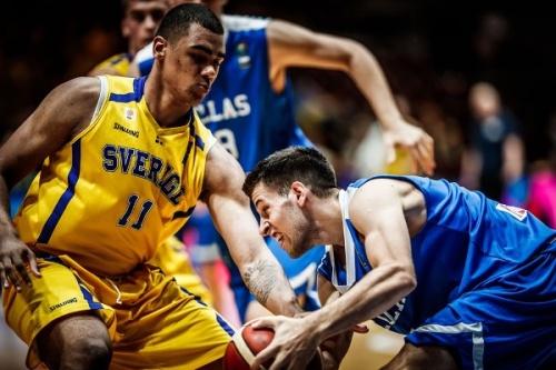 Ευρωπαϊκό Νέων Ανδρών : Σουηδία-Ελλάδα 64-77. Παραμονή στην Α' Κατηγορία για την εθνική