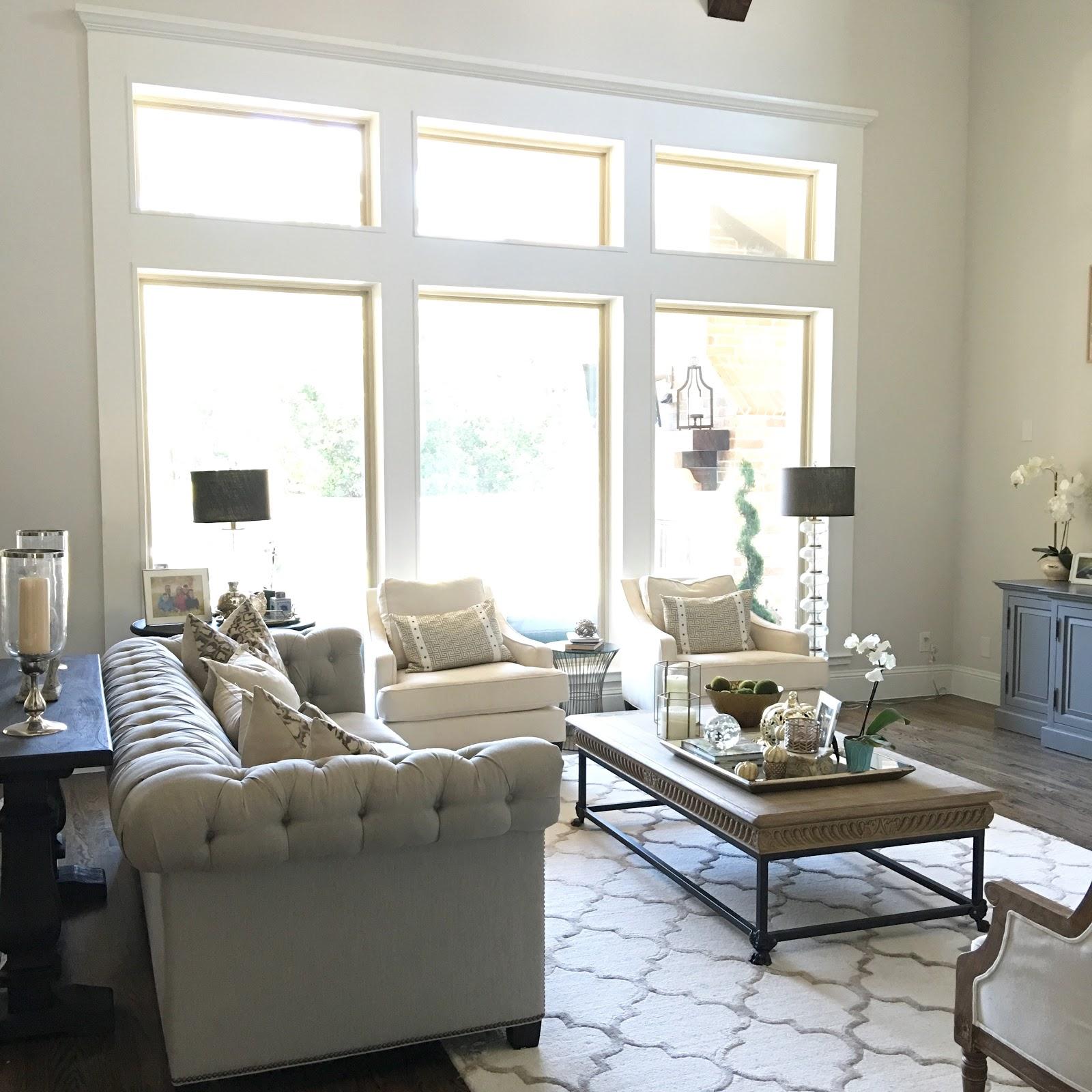 Classic Style Home: Living Room Update: DIY Window Trim