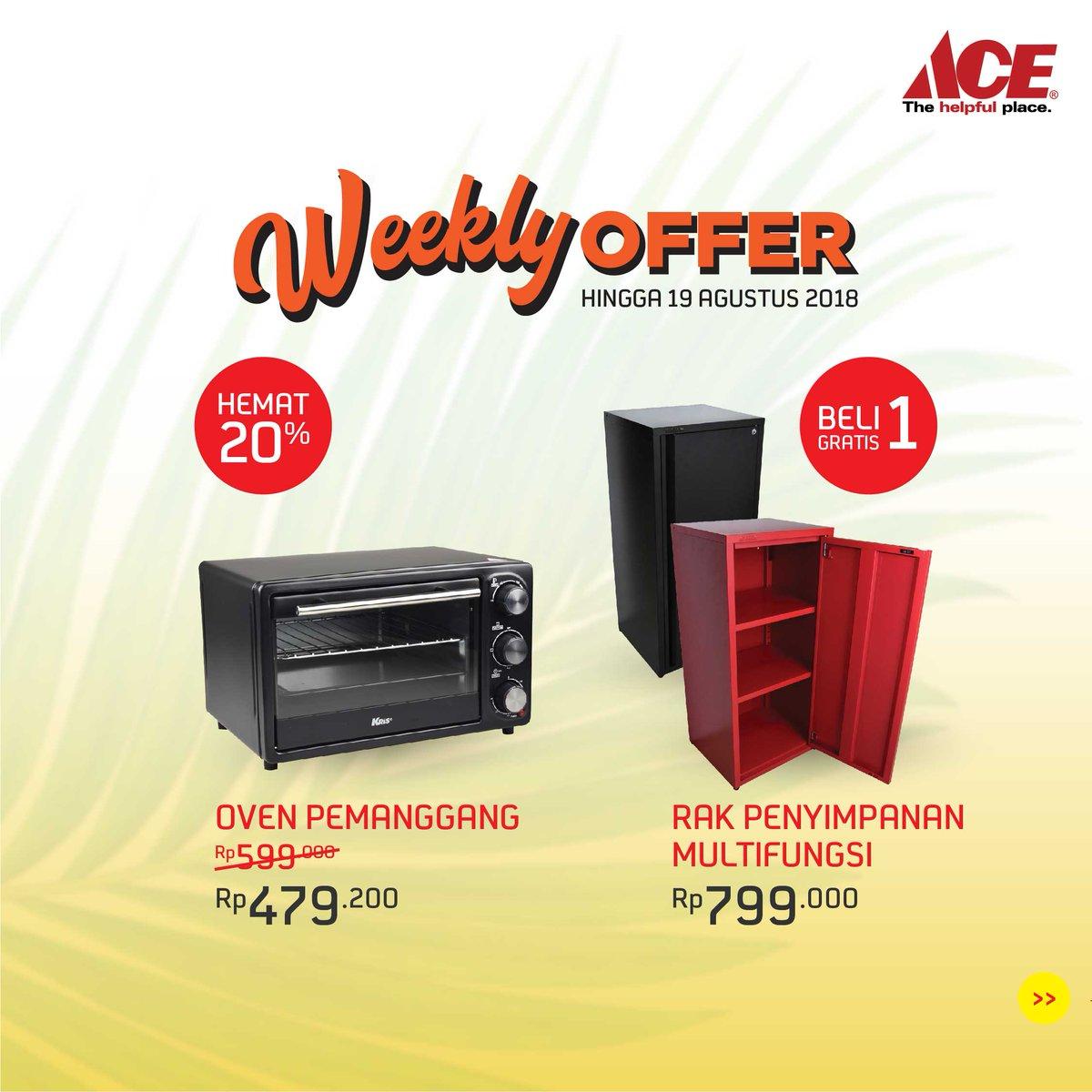 AceHardware - Promo Weekly Offer Buy 1 get 1 Free + Ada Yang Hemat 25%