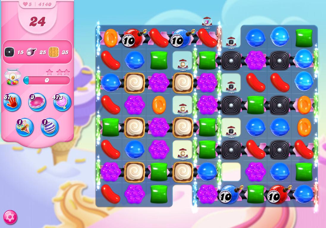 Candy Crush Saga level 4140