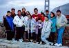 Group shot at Golden Gate Bridge Vista Point