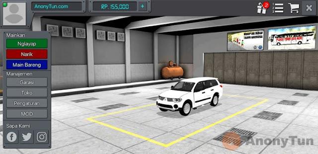 MOD BUSSID Mobil Mitsubishi Pajero Sport 2014