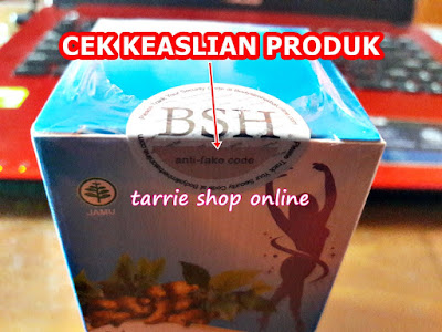 Body Slim Herbal BSH BPOM Kode Tracking