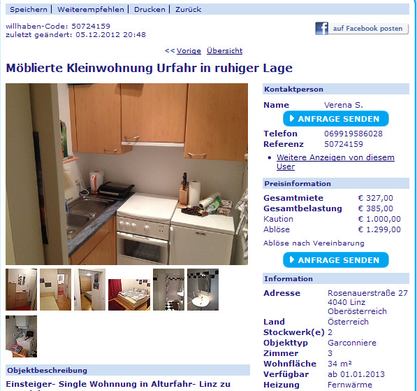 graz single wohnung Pinneberg