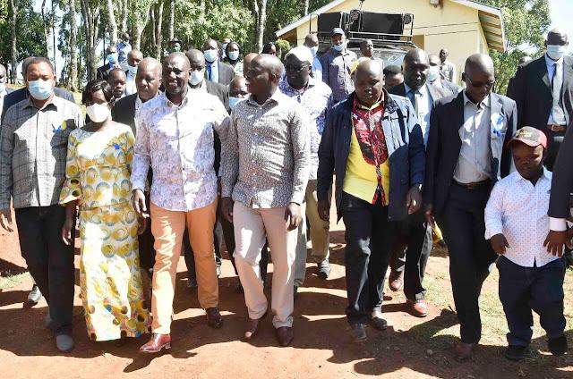 DP William Samoei Ruto in Nandi photo