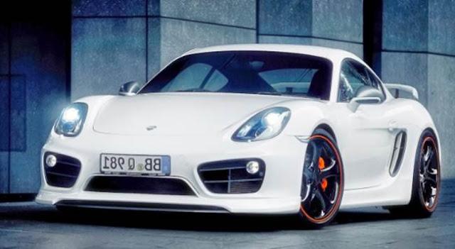 2018 Porsche Cayman GT4 Redesign