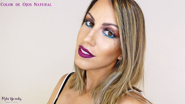 lenscircle review lentillas colores maquillaje makeup tutorial rubibeauty