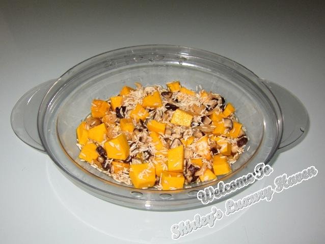 pumpkin mushroom recipes, asian cooking