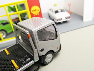 Tomica Limited Vintage NEO silver Nissan Atlas(F24) Hanamidai Auto Co. Safety Loader