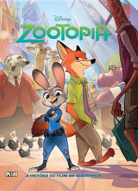 Zootopia A História do Filme em Quadrinhos Disney