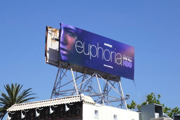Euphoria HBO series billboard