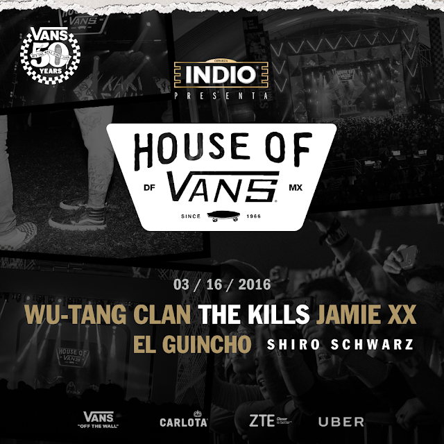 El cartel House Of Vans 2016 emociona