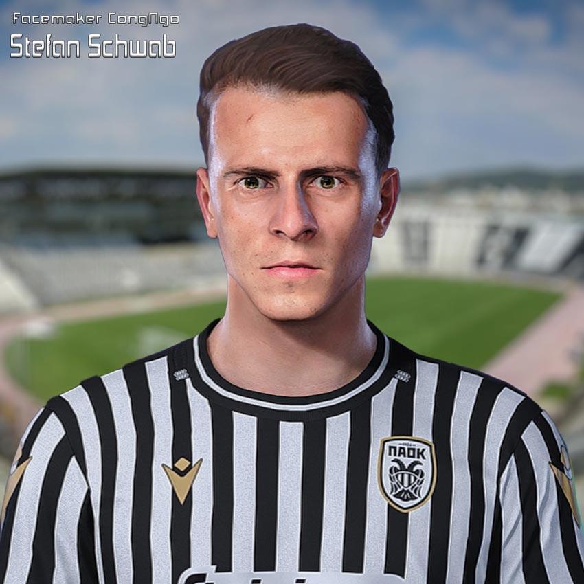 Stefan Schwab Face For eFootball PES 2021