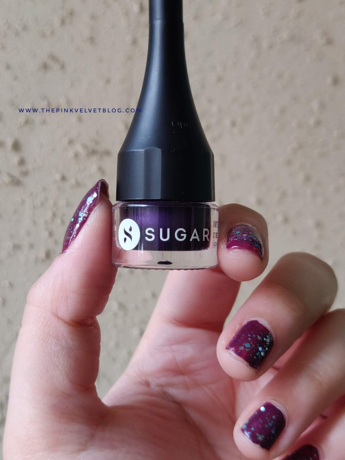 SUGAR Born to Wing Gel Eyeliner - Review and Swatches (All 5 Shades) - Purple Haze