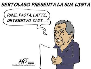 bertolaso, elezioni roma, liste elettorali, vignetta, satira