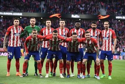 مشاهدة مباراة اتلتيكو مدريد وسان لويس