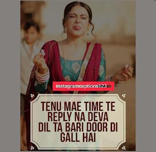 Punjabi Love Status