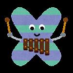 アルファベットのキャラクター「XYLOPHONE の X」