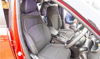 RENAULT KIGER INTERIOR - SEATS