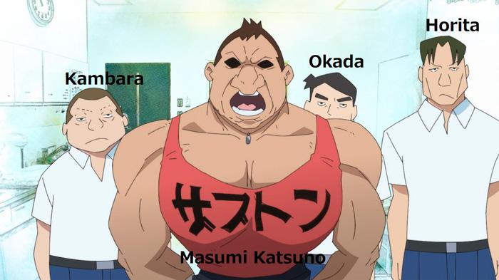 Vladlove anime (Mamoru Oshii) - reparto