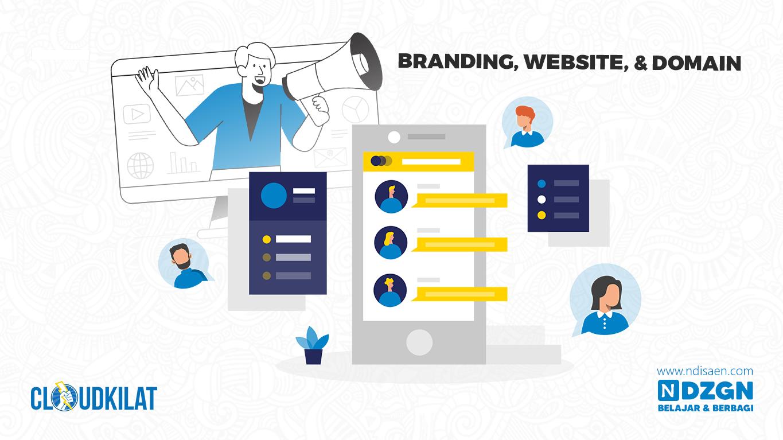 Potensi Bisnis Online di Era Digital Lewat Website dan Domain - Pentingnya Membangun Branding