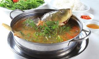 Món Ngon Cuối Tuân - Lẩu riêu cá chép