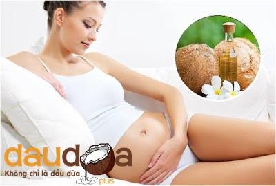 Làm đẹp sau sinh với dầu dừa nguyên chất