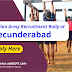 Indian Army Recruitment Rally at Secunderabad : Apply here