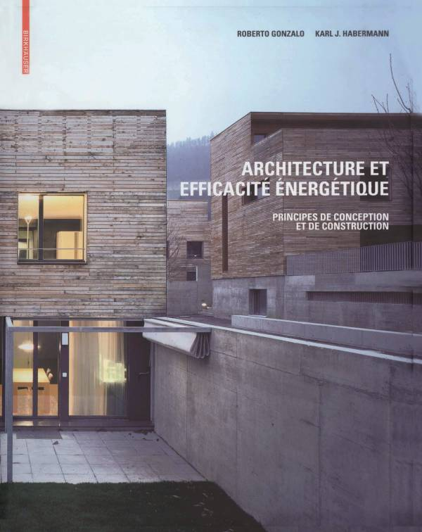 [Livre] ARCHITECTURE ET EFFICACITÉ ÉNERGÉTIQUE