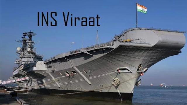 INS Viraat For Dismantling