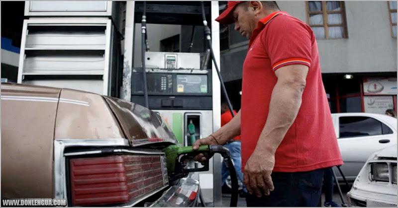 GASOLINA |  Sueldo mínimo en Venezuela apenas alcanza para comprar 9 litros de combustible