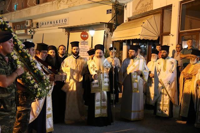 Θεσπρωτία: Πλήθος πιστών στον εορτασμό ανακομιδής λειψάνων του αγίου Δονάτου στην Παραμυθιά