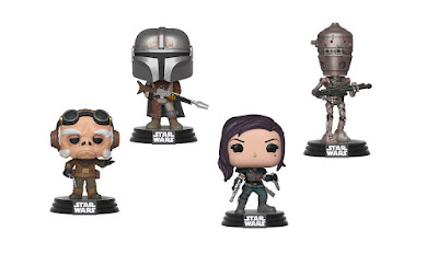 The Mandalorian Pop! Star Wars Series 1 Vinyl Figures by Funko