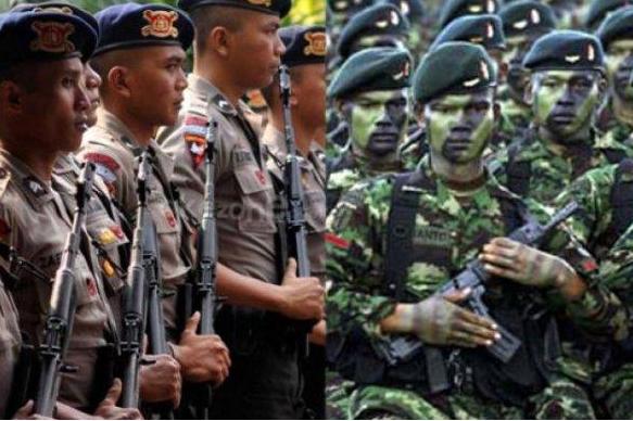 tugas peran tni polri dan polisi bagi negeri