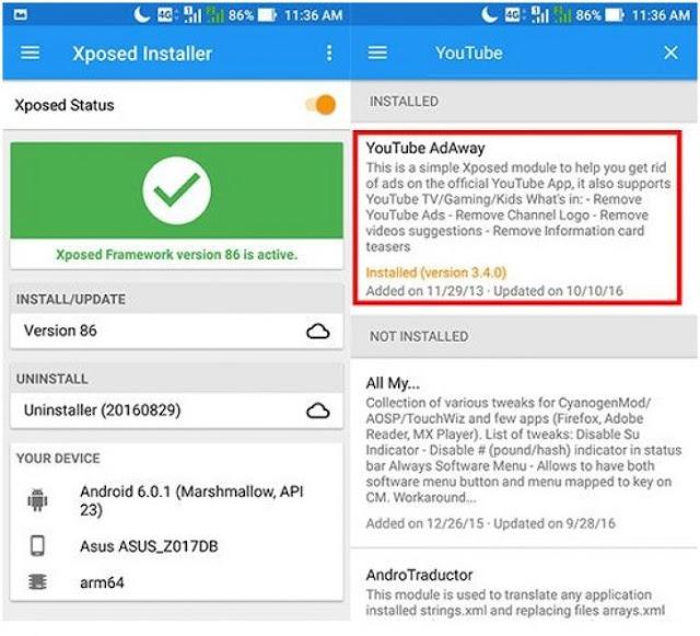 Cara Menghilangkan Semua Iklan YouTube Di Smartphone Android Dengan Mudah