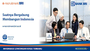 Rekrutment Brilian Banking Officer Program (BBOP) Batch 1 PT. Bank Rakyat Indonesia (Persero)