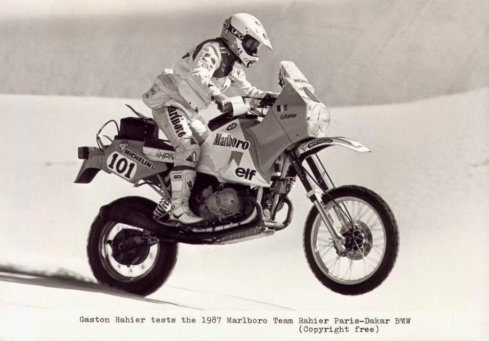 Gaston Rahier Suzuki