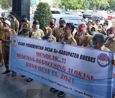Ditolak Paguyuban Kades dan PPDI se-Brebes, Pemkab Akhirnya Batalkan Wacana Refocusing ADD
