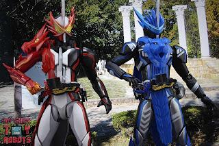 S.H. Figuarts Kamen Rider Blades Lion Senki 39