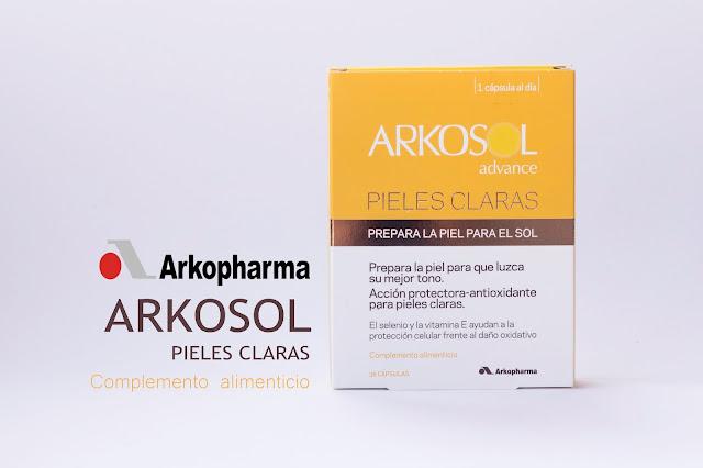 Arkosol Avance para pieles claras de Arkopharma: cápsulas para presumir de piel morena.