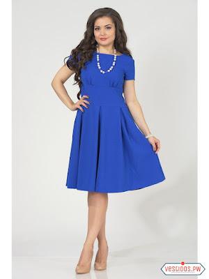 vestidos color azul online
