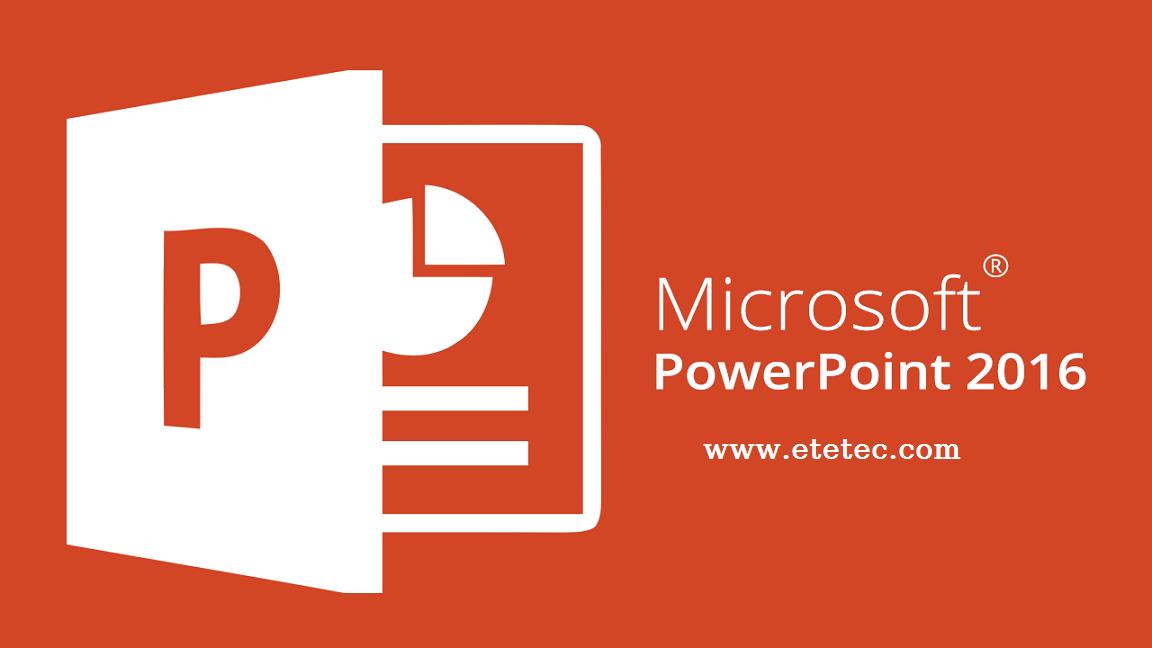 برنامج إنشاء العرض التقديمي للشرائح بوربوينت PowerPoint 2016