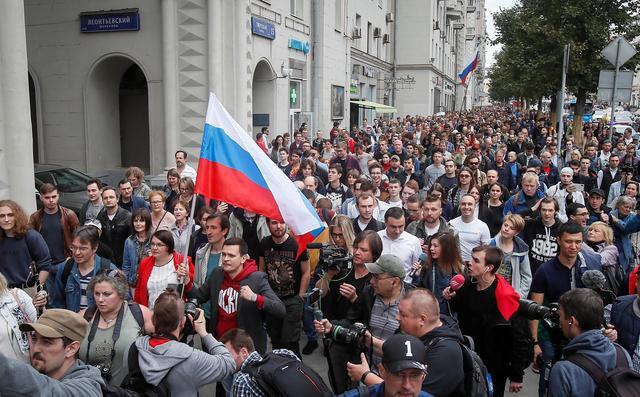 У Москві вийшли на мітинг проти політичних репресій
