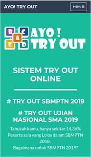 8 situs latihan try out online SBMPTN gratis & lengkap!!