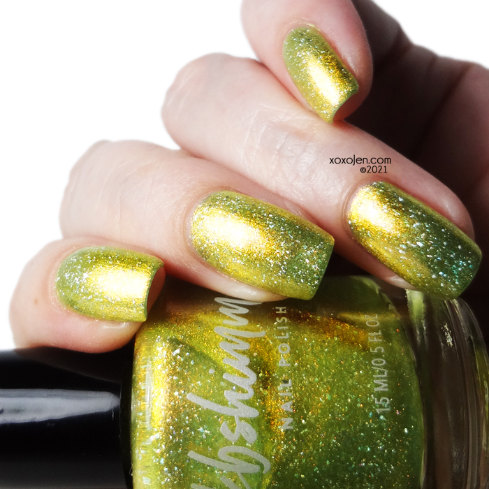 xoxoJen's swatch of KBShimmer Perfectly Suited